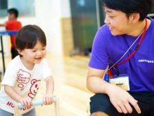 谷中児童館の幼児タイムでの一コマ